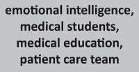 Medical studies, team roles and emotional intelligence