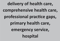 Assessment of the health care system functioning in Poland