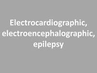 Association between electrocardiographic and electroencephalographic changes in patients with epilepsy