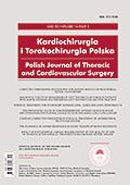 POLISH JOURNAL OF CARDIO-THORACIC SURGERY